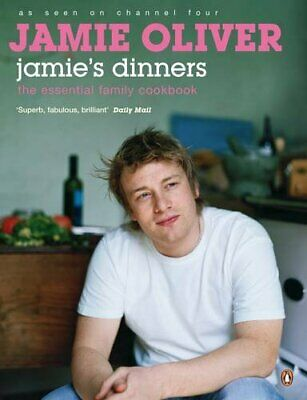 Jamie's Dinners, Oliver, Jamie Paperback Book The Cheap Fast Free Post
