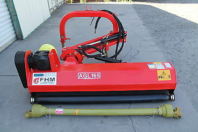 "65"" Ditch Bank Flail Mower Cat.I3pt 40hp~65hp (FH-AGL165) w/Hammer Blades"