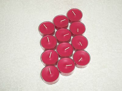 Partylite Cherry Orchard Tealights -- ReminiScent Scent