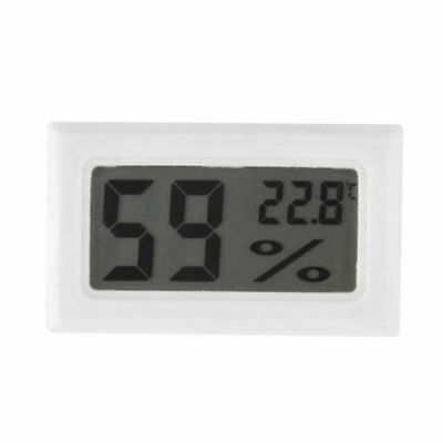 Gauge Humidity Meter Digital LCD Monitor Thermometer Hygrometer Temperature