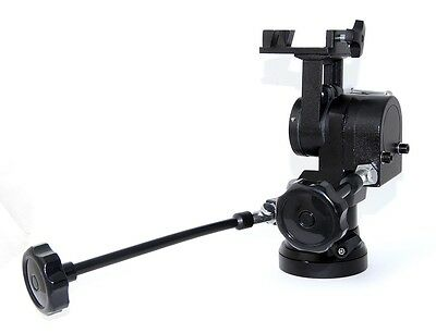 Geared Head and Alt azimuth Mount for camera tripod, TRAZPH