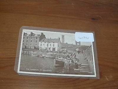Old  postcard our ref #41795 THE HARBOUR ST ANDREWS 1955