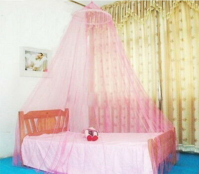 Mosquito Net Netting Mesh Bed Canopy Fly Insect Protection Round Dome Lace NetHT