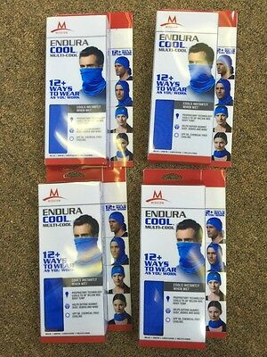 4 x EnduraCool Multi-Cool MISSION'S ; by Forbes Riley Color:Blue FAST SHIPPING