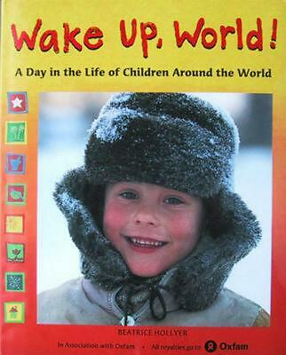 Wake Up, World! by Beatrice Hollyer (English) Hardcover Book Free Shipping!