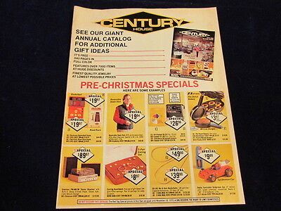 1979 Century House pre Christmas Catalog Mail Order Gifts for All Free Ship M3