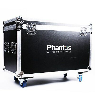 Armor Road Case for 2X PHANTOS 5R BEAM Moving Heads (Customization Available)