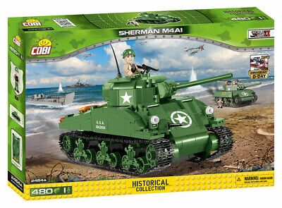 Cobi 2464 - Small Army - Wwii Us M4A1 Sherman - Neu