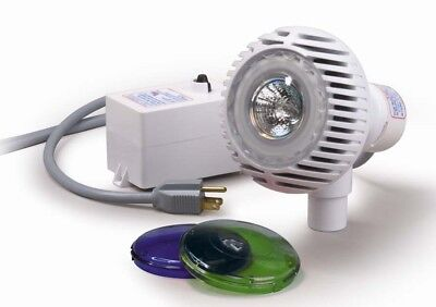 Pentair 98600000 AquaLuminator Above Ground Swimming Pool Light w/ 2 Color Lens