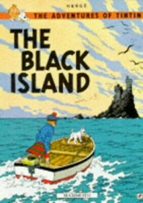 The Black Island (The Adventures of Tintin) by Herge Paperback Book The Cheap