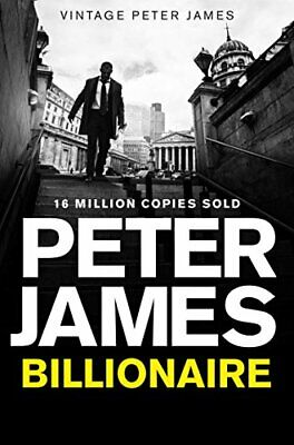 Billionaire, James, Peter Book The Cheap Fast Free Post
