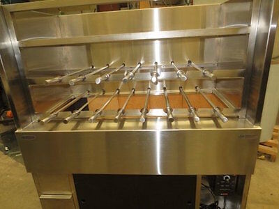 Charcoal Kebab Machine full automatic - Custom made -
