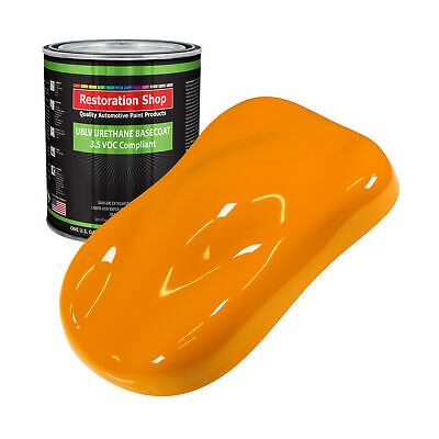 Speed Yellow 1 Gallon Low VOC URETHANE BASECOAT Car Auto Body Paint