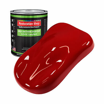 Victory Red 1 Gallon Low VOC URETHANE BASECOAT Car Auto Body Paint
