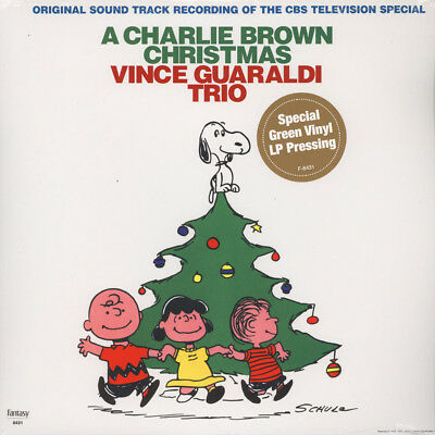 Vince Guaraldi - A Charlie Brown Christmas (Vinyl LP - 2009 - US - Original)