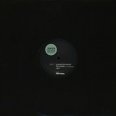 "Joker - The Vision Instrumentals (Vinyl 12"" - 2011 - UK - Original)"