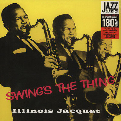 Illinois Jacquet - Swing's The Thing (Vinyl LP - 2012 - US - Original)