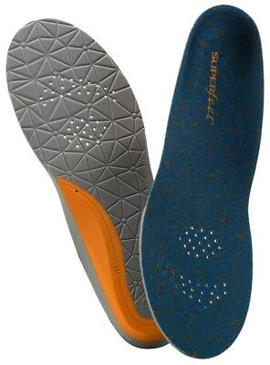 Superfeet Erwachsenen Einlegesohle FLEX MID blau / orange