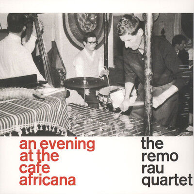 Remo Rau Quartet, The - At The Cafe Africana (Vinyl LP - 2014 - EU - Original)