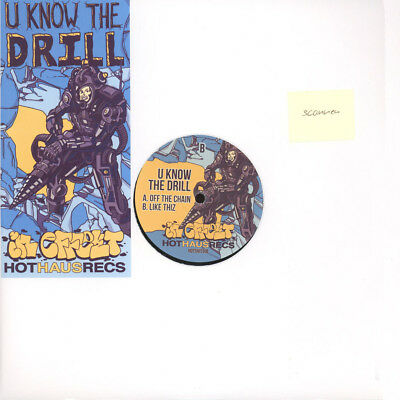 "U Know The Drill - Off the Chain (Vinyl 12"" - 2015 - UK - Original)"