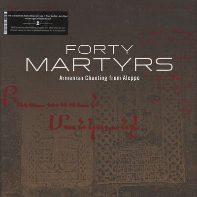 Forty Martyrs - Armenian Chanting From Aleppo (Vinyl LP - 2015 - US - Original)