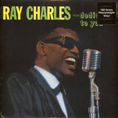 Ray Charles - Dedicated To You 180g Vinyl Edition (LP - 1961 - EU - Reissue)