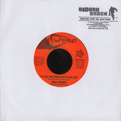 Dena Barnes - If You Ever Walk Out Of My Life Vinyl UK 7""