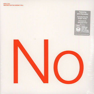 New Order - Waiting For The Sirens Call 2015 R (Vinyl 2LP - 2005 - EU - Reissue)