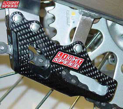 Lightspeed Carbon Chain Guide Carbon Fiber For Hon CR125/250 CRF250/450R CRF250X