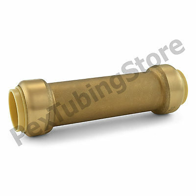 "(10) 3/4"" Sharkbite Style (Push-Fit) Push to Connect LF Brass Slip Couplings"
