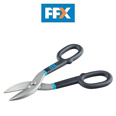 Ox Tools P223010 Pro Straight Tin Snips 10in/250mm