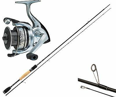 Kp1844 Rod Spinning Rapture Stylish 229 CX1 Sic Trout Area Reel + 20