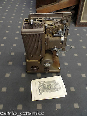 "Specto ""500"" cine Projector with original instructions"