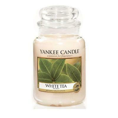 Yankee Candle White Tea Scented Large Jar