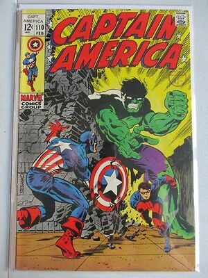 Captain America Vol. 1 (1968-2012) #110 VF 1st Madame Hydra