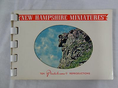 New Hampshire Miniatures 10 Plastichrome Views Souvenir Booklet Colourpicture