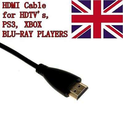 1 X 1.8m Premium Gold HDMI High Speed Video Cable for LCD HDTV PS3 Xbox 360 SKY