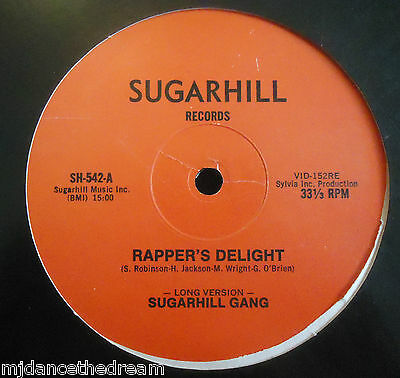 "SUGARHILL GANG ~ Rappers Delight ~ 12"" Single USA PRESS"