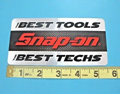 Genuine Snap On Tools Logo Decal CAUTION EXPOSURE TO THESE TOOLS NEW