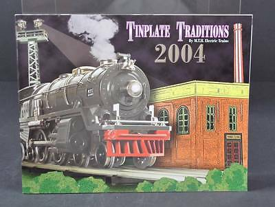Tinplate Tradtions 2004 By MTH Electric Trains Hobby Model Railroading Book G8