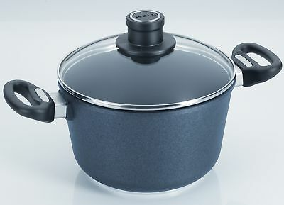 Woll Cookware Diamond Plus 3.2-qt. Stock Pot with Lid