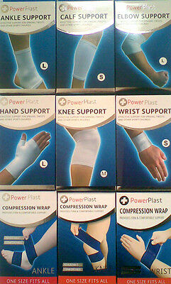 PowerPlast Ankle Calf Elbow Hand Knee Wrist Compression & Support Bandage