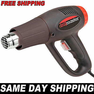 1500 Watt Dual Temperature Heat Gun 572°F 1112°F 120V 6.6 and 12.1 Amps SAME DAY