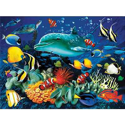 Puzzle Clementoni 39186 Pezzi 1000 Magic 3D Delfino