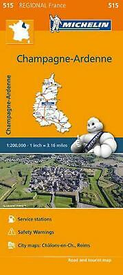 Michelin Regional Maps: France: Champagne-Ardenne Map 515 by Michelin Travel & L