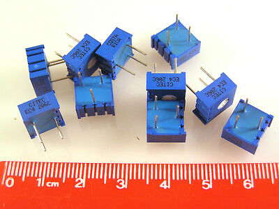 Citec 4295M 20K Cermet Trimmer Resistors Through Hole 10 pieces OM1071F