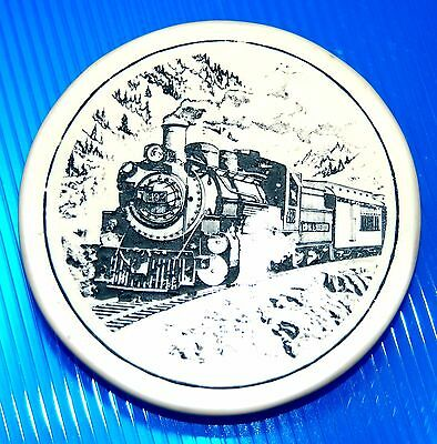 Beautiful Laser Cut Resin Steam Engine Collectible Train Magnet