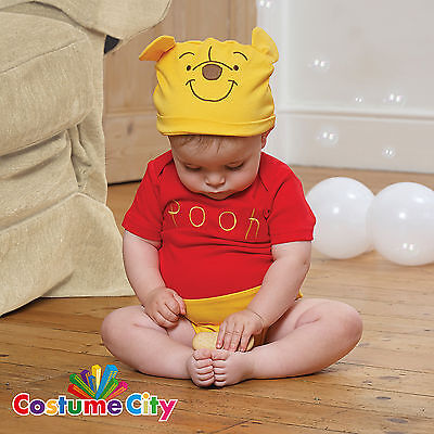 Babys Toddlers Official Disney Winnie the Pooh Fancy Dress Book Week Costume
