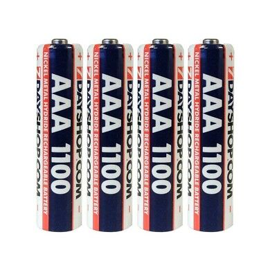 4x AAA 7dayshop 1100mAh Rechargeable Batteries LR03 HR03 Dect Cordless Phone