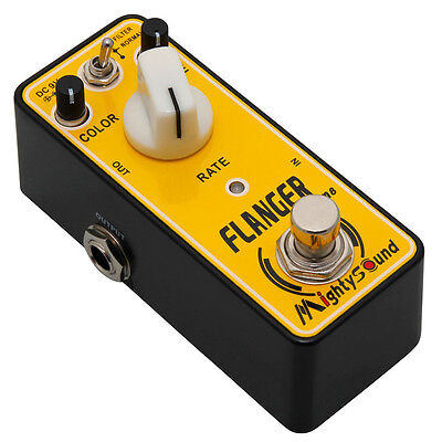 Mighty Sound M8 Flanger Guitar Effects Pedal